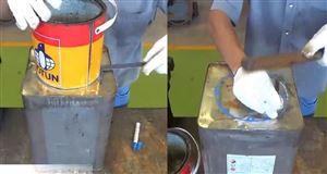 Cách làm bếp đun mùn cưa